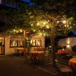Biergarten Mohren 3 Sterne Hotel Allgäu Wangen