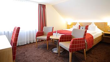Zimmer Suiten 3 Sterne Hotel Allgäu