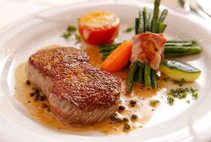 Abendessen Restaurant Mohren 3 Sterne Hotel Allgäu