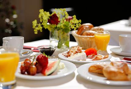 Hotel Frühstück Buffet Allgäu Wangen