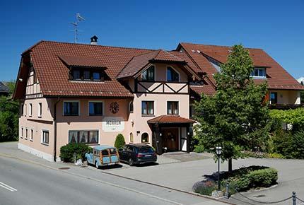 3 Sterne Hotel Mohren Aussenansicht Allgäu Bodensee