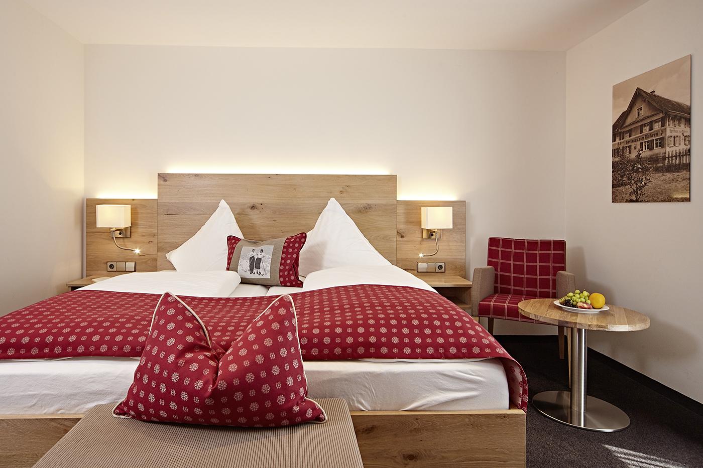 Doppelzimmer Komfort Hotel Allgäu Bodensee